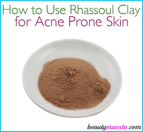 Interested in healing your acne the natural way? Then learn how to use rhassoul clay for acne, a natural clay that's excellent at keeping pesky acne at bay!