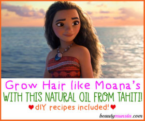 Tamanu Oil Benefits for Hair | How to Grow Moana Hair