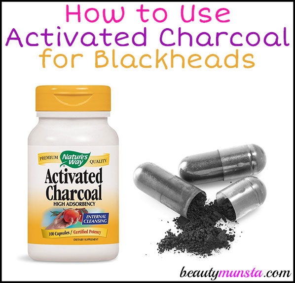 Can you use activated charcoal for blackheads? Definitely! It's one of the best things you can use to naturally remove and prevent blackheads!
