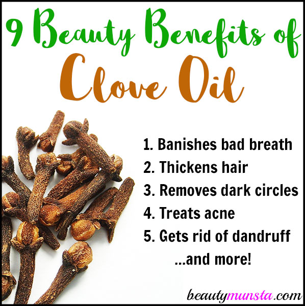 Discover the beauty benefits of clove essential oil for skin, hair and more in this article!
