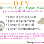 Bentonite Clay Yogurt Mask for Skin | DIY Facial Treatment
