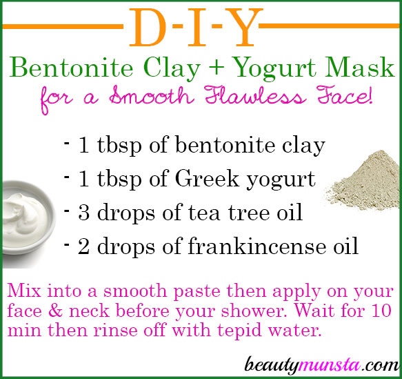This a bentonite clay yogurt mask for your skin! Please check out the bentonite clay yogurt mask for hair HERE.