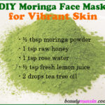 DIY Moringa Powder Face Mask for Vibrant Skin