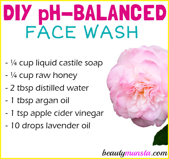 Diy ph balanced face wash for healthy skin beautymunsta diy ph balanced face wash for healthy skin solutioingenieria Image collections