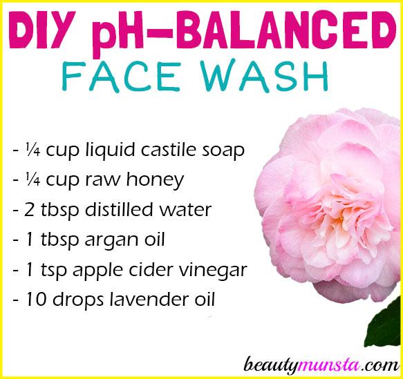 Natural Ph Balanced Face Wash