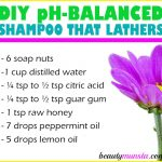 DIY pH Balanced Shampoo that Lathers