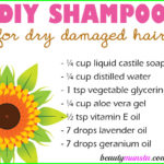 Homemade Shampoo for Dry Damaged Hair