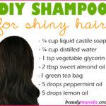 Homemade Shampoo for Shiny Hair | Get Glossy Locks