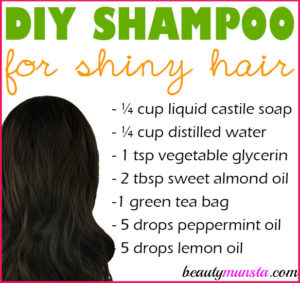 Homemade Shampoo for Shiny Hair | Get Glossy Locks