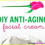 Homemade Anti-Aging Face Cream