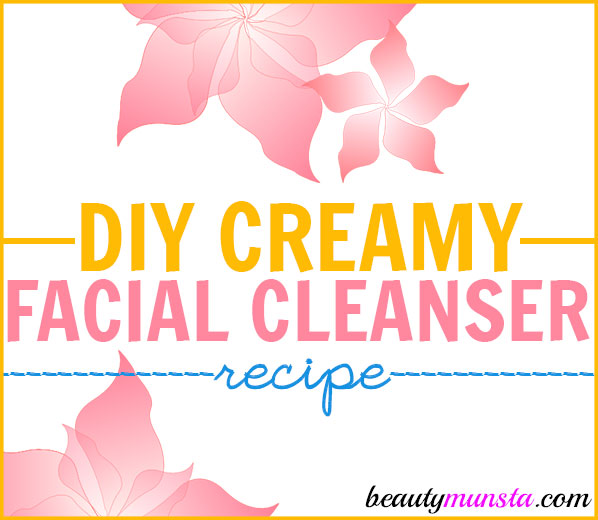 Homemade Creamy Face Cleanser