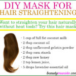 Homemade Hair Straightening Mask