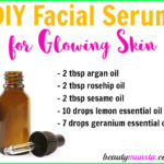 DIY Homemade Serum for Glowing Skin with Essential Oils