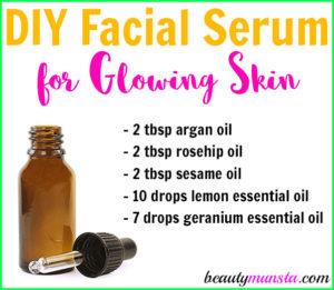 Homemade Serum for Glowing Skin