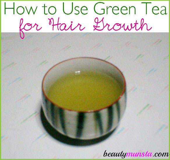 Learn how to use green tea for hair growth in 3 effective ways!