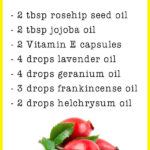 DIY Rosehip Facial Serum