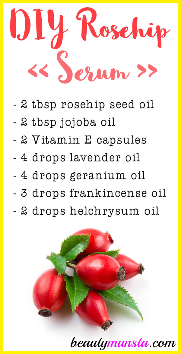 A DIY rosehip facial serum sounds luxurious - and it is! Learn how to make it now!