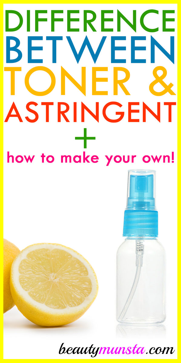 If you're into skin care, then you know there's something called a toner and something called an astringent. Most people think it's the same thing. But there is a difference, though it may be subtle! In this article, we'll find out the difference between toner and astringent and which suits you best in your skin care regimen!