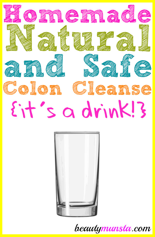 Homemade Natural Colon Cleanse