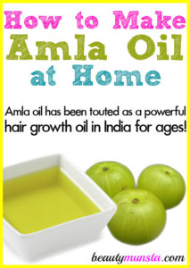 How to Make Homemade Amla Oil