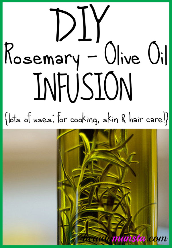 Get to learn how to make a rosemary olive oil infusion at home with easy steps!