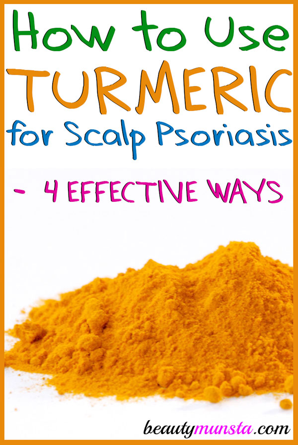 To naturally heal your skin, learn how to use turmeric for scalp psoriasis!