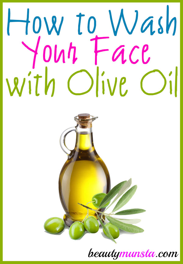 Facial cleanser recipe for extra virgin olive oil