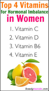 Top 4 Vitamins for Hormonal Imbalance in Women