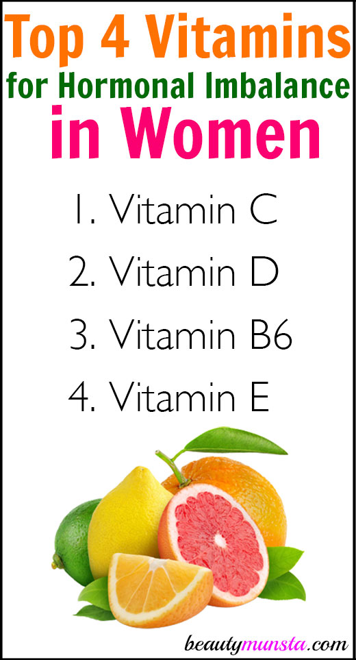 Find out the top vitamins for hormonal imbalance in women!