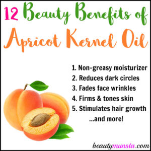 12 Beauty Benefits of Apricot Kernel Oil