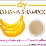 How to Make Banana Shampoo for Shiny Hair