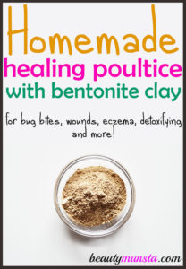 How to Make Bentonite Clay Poultice
