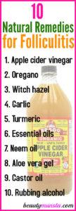 10 Natural Remedies for Folliculitis