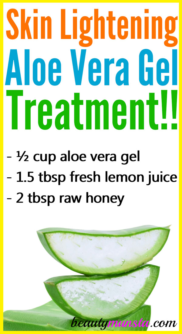 Can you use aloe vera gel for skin lightening? Find out here!