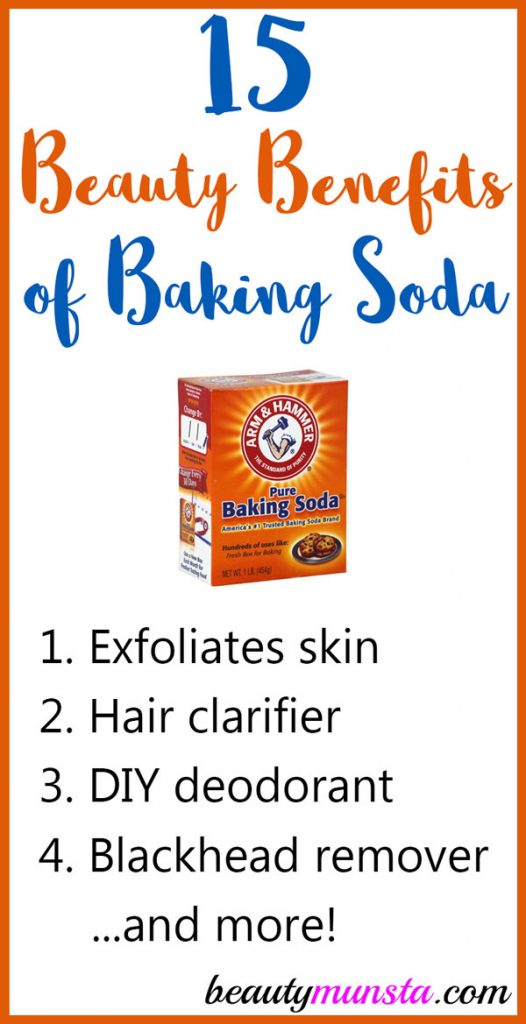 Discover 20 beauty benefits of baking soda for skin, hair and more in this article!
