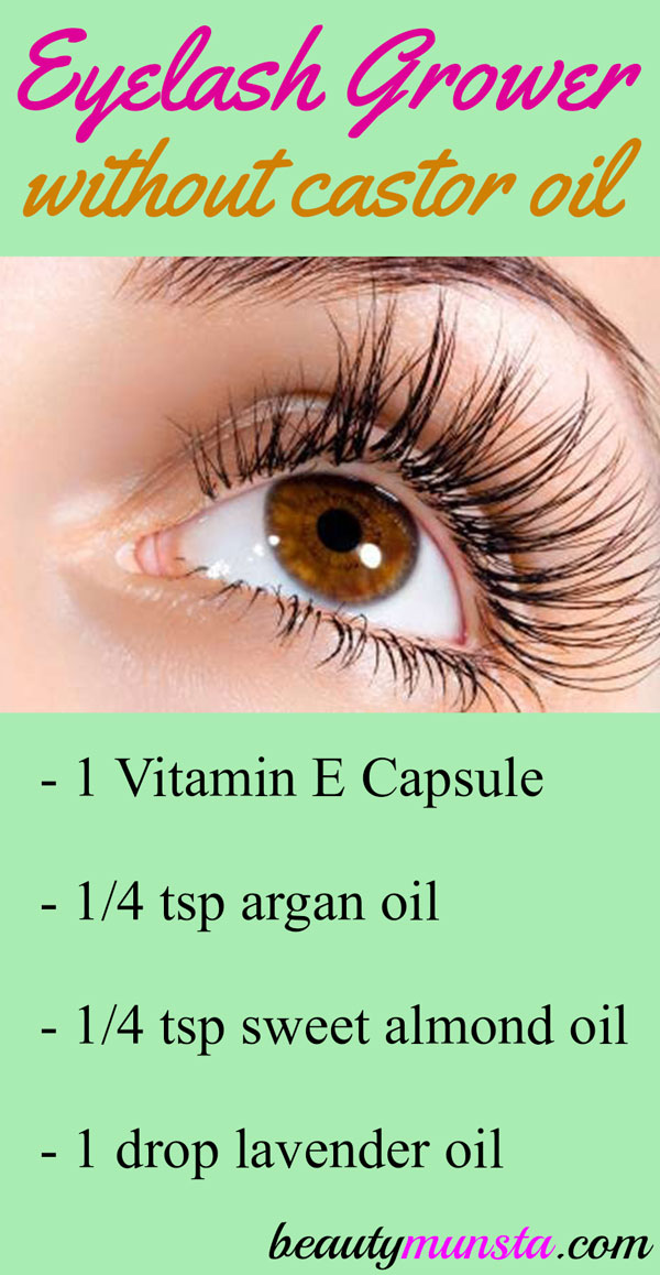 Diy Eyelash Growth Serum Without Castor Oil Beautymunsta Free