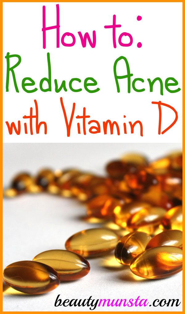 Is Vitamin D good for acne? Find out how to reduce acne with Vitamin D.