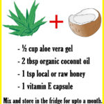 Aloe Vera and Coconut Oil for Hair Growth