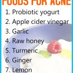 Top 10 Antibacterial Foods for Acne