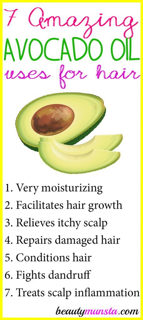 Check out these amazing avocado uses for hair care and how to use it with effective recipes!