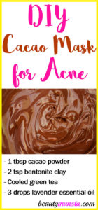 Cacao Face Mask for Acne