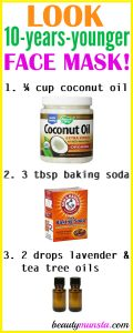 Coconut Oil and Baking Soda for Wrinkles