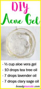 DIY Acne Gel with Essential Oils