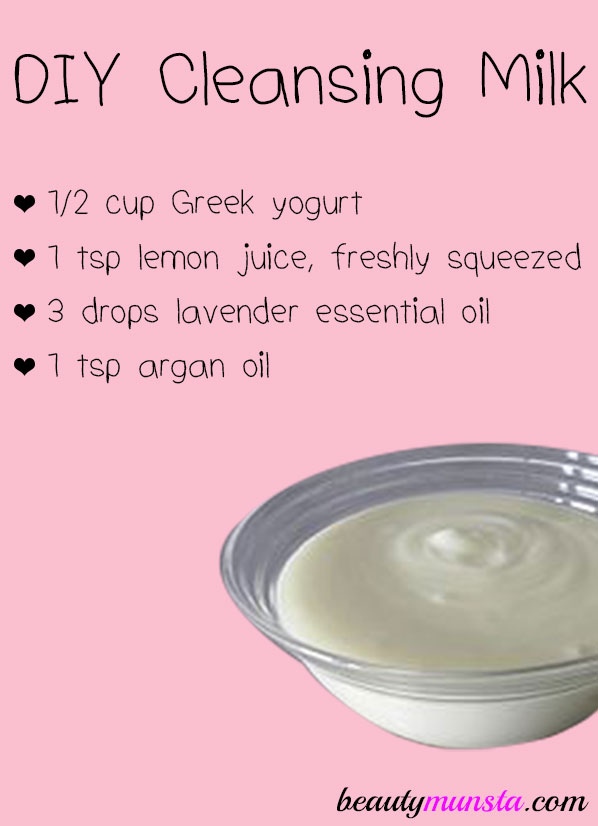 Got dry flaky, rosacea or sensitive skin? Stop using commercial facial washes and try this DIY cleansing milk!
