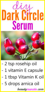 DIY Dark Circle Serum