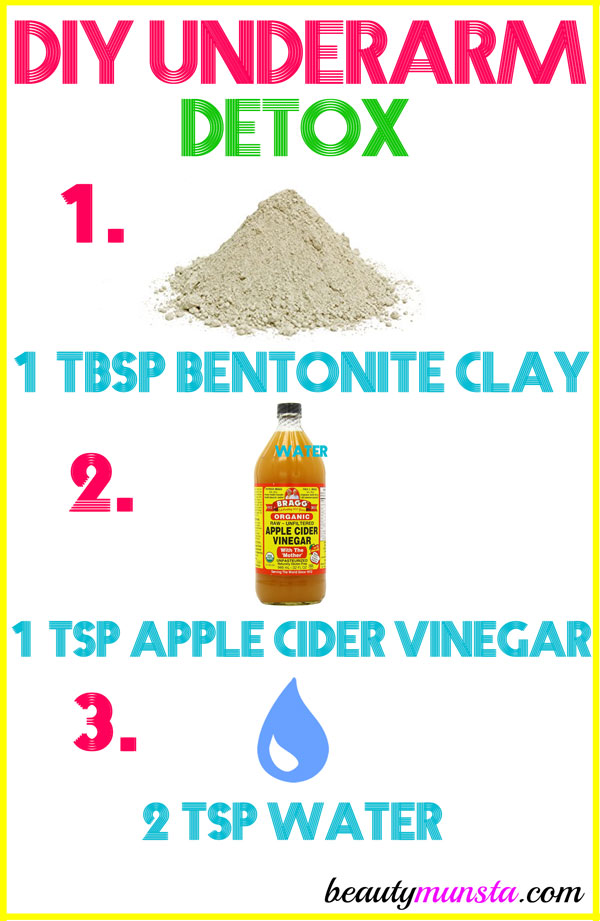 You need this DIY underarm detox to purge toxins, neutralize BO and other benefits as we shall see below!