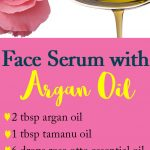 Face Serum Recipe with Argan Oil