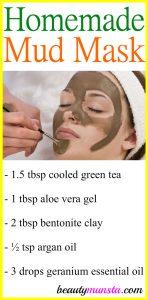 Homemade Facial Mud Mask