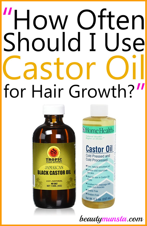 How Often Should I Use Castor Oil For Hair Growth