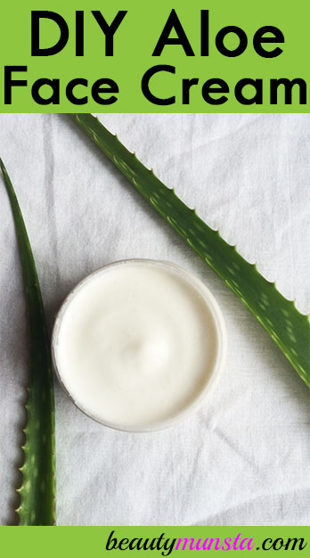Get to know how to make face cream with aloe vera, a soothing skin care ingredient!